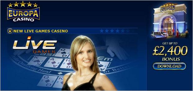 live казино европа
