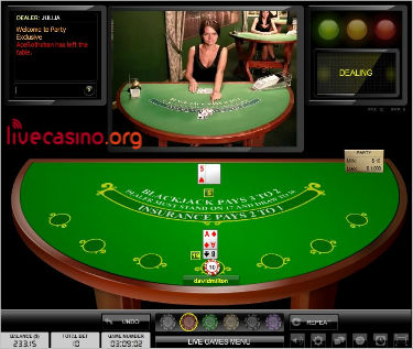 Best Live Dealer Blackjack Party Casinos