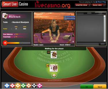 Smart Live Casino Live Dealer Games