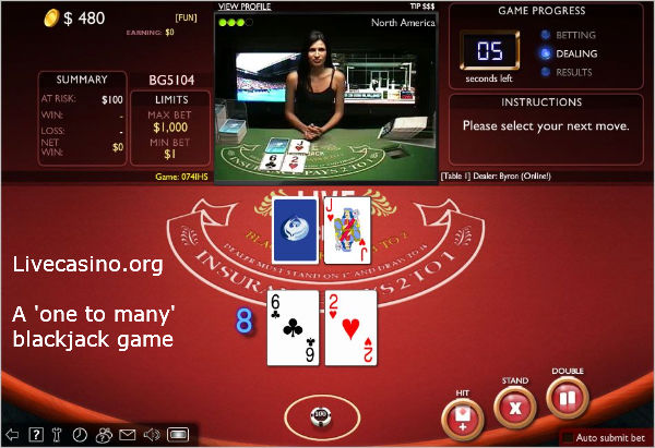 online blackjack free multiplayer